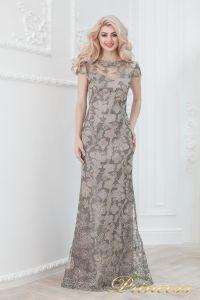 Вечернее платье 1628 grey. Цвет цветное . Вид 1