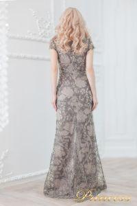 Вечернее платье 1628 grey. Цвет цветное . Вид 3