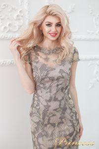 Вечернее платье 1628 grey. Цвет цветное . Вид 4