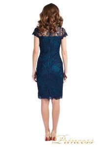 Коктейльное платье 1645 dark-navy. Цвет синий. Вид 3