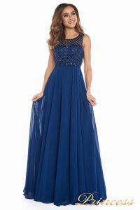 Вечернее платье 166N. Цвет синий. Вид 5