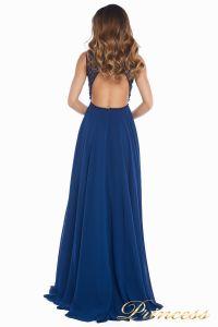 Вечернее платье 166N. Цвет синий. Вид 6