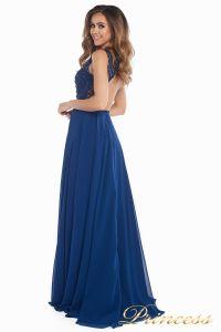 Вечернее платье 166N. Цвет синий. Вид 7