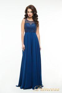 Вечернее платье 166N. Цвет синий. Вид 2