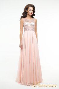 Вечернее платье 166P. Цвет розовый. Вид 3