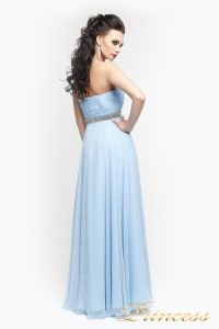 Вечернее платье 167. Цвет голубой. Вид 3