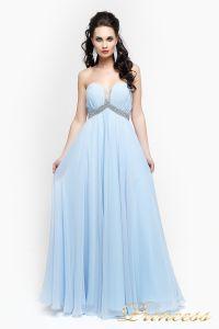 Вечернее платье 167. Цвет голубой. Вид 2