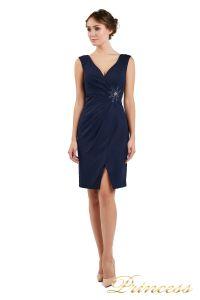 Коктейльное платье 1701 navy. Цвет синий. Вид 1