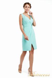 Коктейльное платье 1701 aqua. Цвет салатовый. Вид 2