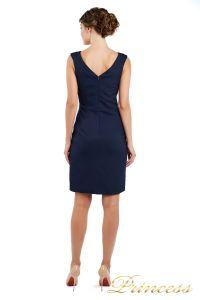 Коктейльное платье 1701 navy. Цвет синий. Вид 2