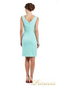 Коктейльное платье 1701 aqua. Цвет салатовый. Вид 3
