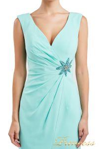 Коктейльное платье 1701 aqua. Цвет салатовый. Вид 4
