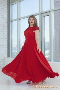Вечернее платье 709_red . Цвет красный. Вид 1