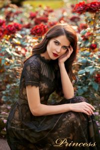 Вечернее платье NF-17173-BLACK. Цвет чёрный. Вид 2