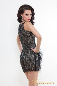 Коктейльное платье 171740. Цвет чёрный. Вид 2