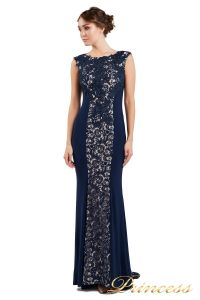 Вечернее платье 1719 navy. Цвет синий. Вид 1