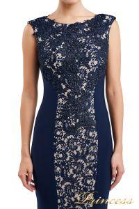 Вечернее платье 1719 navy. Цвет синий. Вид 2