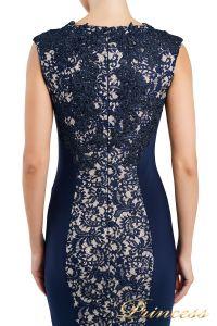 Вечернее платье 1719 navy. Цвет синий. Вид 3