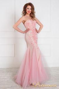 Вечернее платье на выпускной 12050. Цвет салатовый. Вид 4