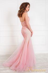Вечернее платье на выпускной 12050. Цвет салатовый. Вид 5