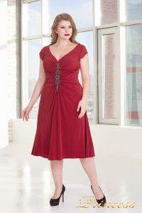 Вечернее платье 720 RED. Цвет красный. Вид 2