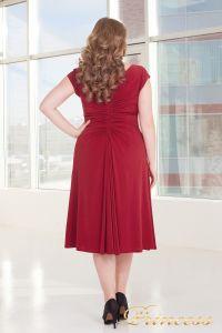 Вечернее платье 720 RED. Цвет красный. Вид 3