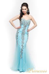 Вечернее платье 17438. Цвет голубой. Вид 2
