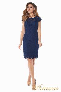 Коктейльное платье 1745 navy. Цвет синий. Вид 3