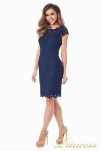Коктейльное платье 1745 navy. Цвет синий. Вид 1