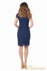 Коктейльное платье 1745 navy. Цвет синий. Вид 6