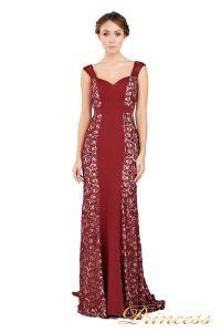 Вечернее платье 1772 wine. Цвет красный. Вид 1