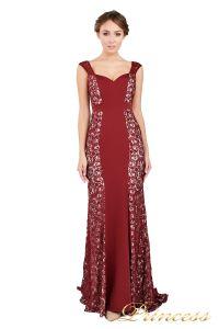 Вечернее платье 1772 wine. Цвет красный. Вид 2