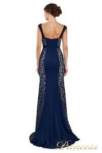 Вечернее платье 1772 navy. Цвет синий. Вид 3