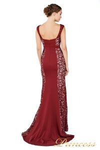 Вечернее платье 1772 wine. Цвет красный. Вид 3