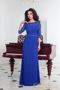 Вечернее платье 1788 royal. Цвет электрик . Вид 2