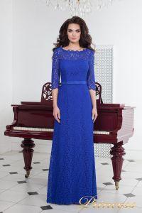 Вечернее платье 1788 royal. Цвет электрик . Вид 1