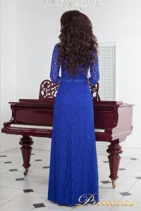 Вечернее платье 1788 royal. Цвет электрик . Вид 3