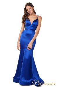 Вечернее платье 18068 royal blue. Цвет синий. Вид 2