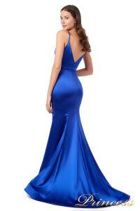 Вечернее платье 18068 royal blue. Цвет синий. Вид 1