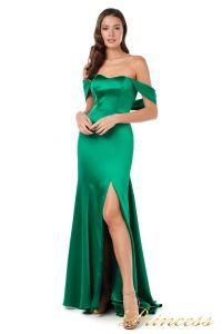 Вечернее платье 18070 green. Цвет зеленый. Вид 2