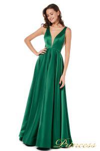 Вечернее платье 18074 green. Цвет зеленый. Вид 1