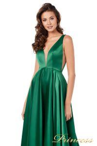 Вечернее платье 18074 green. Цвет зеленый. Вид 3