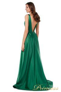 Вечернее платье 18074 green. Цвет зеленый. Вид 5