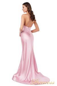 Вечернее платье 18081 . Цвет розовый. Вид 2