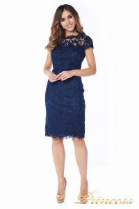 Вечернее платье 1812 MPN navy. Цвет синий. Вид 2