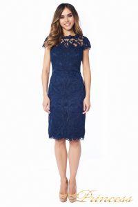 Вечернее платье 1812 MPN navy. Цвет синий. Вид 3