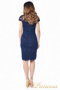 Вечернее платье 1812 MPN navy. Цвет синий. Вид 4