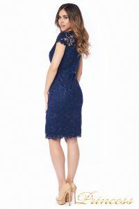 Вечернее платье 1812 MPN navy. Цвет синий. Вид 5