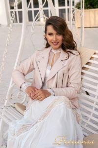 Вечернее платье NF-19033-white. Цвет белый. Вид 4