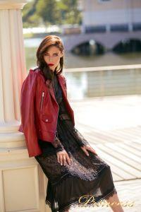 Коктейльное платье NF19033A - black. Цвет чёрный. Вид 2